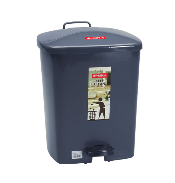 C-7 Square Step on Dustbin 14 Litres