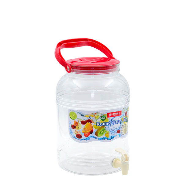 D-46 Round Carry Jug 10 Litres with Tap