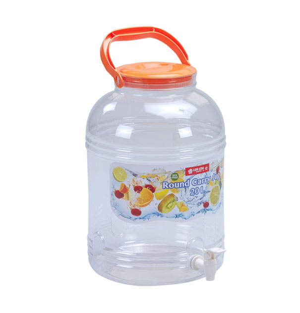 D-48 Round Carry Jug 20 Litres with Tap