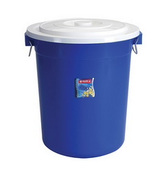 PC-20 Pail 70 Litres w/ Cover & Chrome Handle