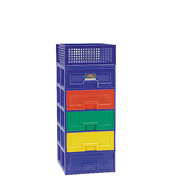 PC-38 Partner Container 5 Stacks + Mesh