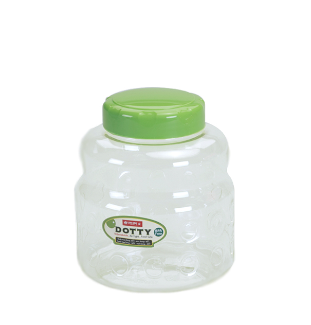 PP-26 Dotty Round Jar 01 (2000 ml)