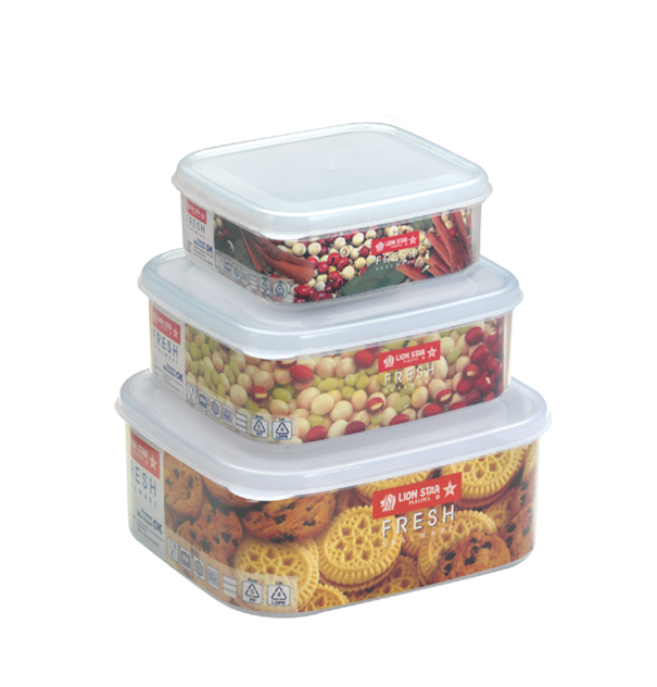 SW-38 Fresh Sealware 6 pcs. Including Lids