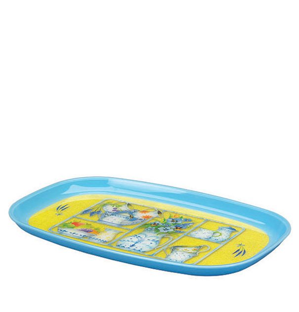 T-34 Decor Oval Tray 601 (L)